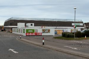 The work is set to get underway at the Peterhead Asda store shortly