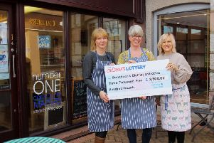 Left to right - Jacqui Rodgers, Jan Leatham and Nicola Betram, from Banchory and District Initiative