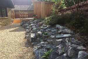 The rain garden in Ballater impressed judges at the landscape awards