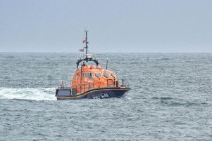 The Peterhead lifeboat was launched at the weekend