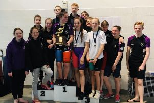 Strong performances by a group of Midlothian Swimming Club swimmers, saw them win the Top Club trophy as well as a raft of individual medals at the Livingston & District Dolphins Graded Meet at the weekend.
