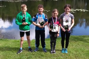 A group of the young winners.