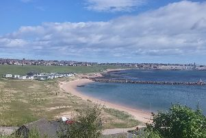 Peterhead Lido is one of eight beaches in Aberdeenshire to win a Beach Award