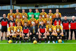 Berwick were relegated to the Lowland League last season