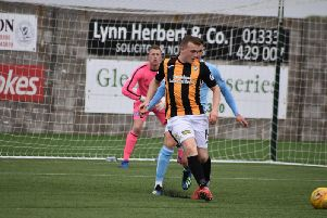 Liam Watt had an excellent game for the Fifers, and scored the fourth goal.