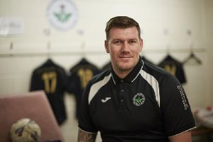 Kevin Haynes has returned to Shielfield Park (Pic courtesy of Berwick Rangers)