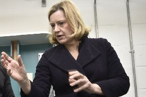 Secretary of State for Work and Pensions Amber Rudd (Pic: David Lowndes)