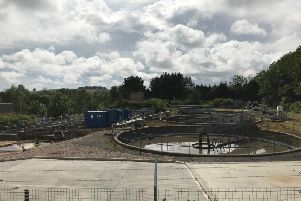 Ellon Waste Water Treatment Works is getting a 10 million overhaul