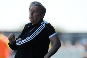 Peterhead boss Jim McInally (pic: Michael Gillen)