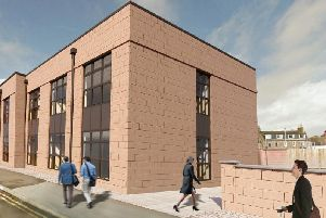 The extension is being funded by Aberdeenshire Council and will be leased to Police Scotland upon completion