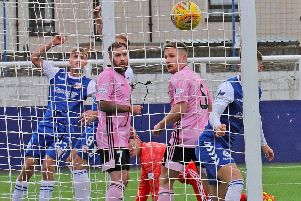 Joel MacBeath open the scoring for Montrose (pic: Phoenix Photography)