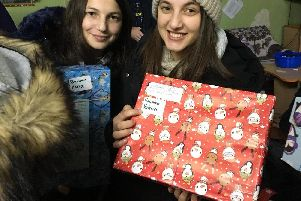 The Christmas Shoebox Appeal puts a smile on the faces of those less fortunate in Moldova.