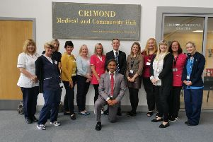 The team at Crimond Surgery.