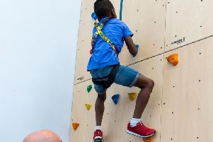 Fancy trying your hand at rock climbing? Well now you can 'Gie it a Go'