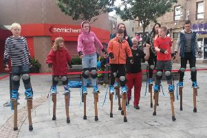 Fancy trying your hand at stiltwalking? The head along to Circomodo.