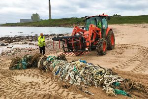 East Grampian Coastal Partnerships Turning the Plastic Tide which will receive 40,000 to extend its hugely-successful plastic waste project to include the entire Aberdeenshire coastline.