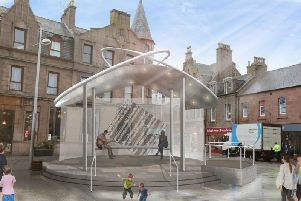 The Public Realm project in Drummers Corner will see the installation of a new raised performance area and upgrades to seating, lighting and electrical points, with added new artwork improving the aesthetics of the town centre precinct.