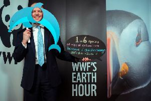 Highlands and Islands MSP Donald Cameron has urged constituents across the Isle of Bute to get behind WWF Scotland's Earth Hour campaign to help protect wildlife from the effects of climate change. (Photograph: MAVERICK PHOTO AGENCY