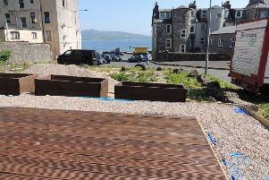 Fyne Futures and the 'Incredible Edible Bute' group expect to see the opening of the accessible raised beds in the Chapel Hill car park, Rothesay this month.