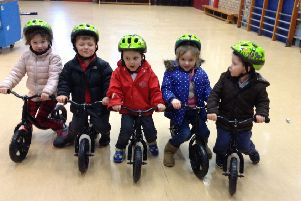 Pre-5 children across the region are being given the opportunity to learn to ride a bike.