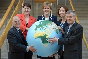 The Scottish Government's target is to reduce greenhouse gas emissions by 80 per cent by 2050.