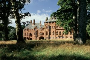 East Elevation Lawn Front''Mount Stuart house & grounds