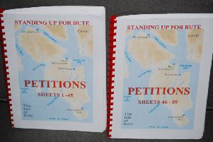 The Stand Up for Bute petition.