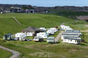 It is understood that the Lido playpark will be sited nearer to the caravan park as opposed to the existing site adjacent to the Scottish Maritime Academy