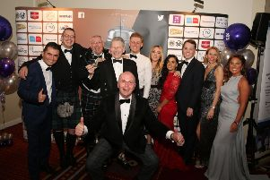 Celebrations after Trump Turnberry was voted Scotland's best hotel in the Over 200 Rooms category.