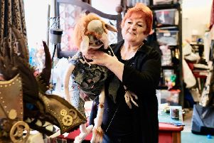 Alison Clark of The Triple Aspect Puppet Company in Rothesay. Photo by Iain Cochrane.