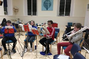 Dysart Colliery Band is looking for new members