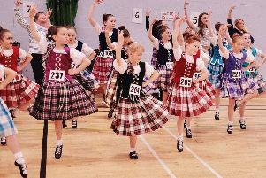 The fun fling at The Bute Highland Dance Festival. Photo by Iain Cochrane.