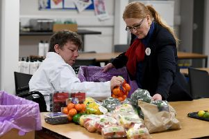 Tesco's Uddingston store have donated more than 6.500 meals to date.