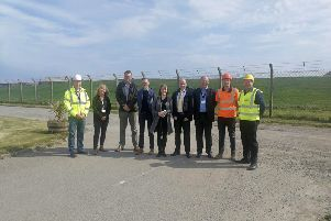 Top civil servants from the Scottish and UK Governments on a visit to Argyll and Bute.