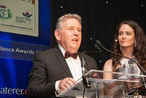 Louis MacCallum from Rothesay accepted the award on behalf of Dumfries House.