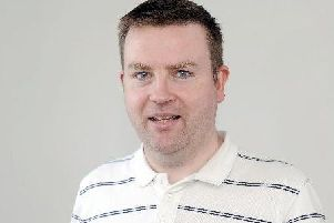 Motherwell Times sports reporter Craig Goldthorp
