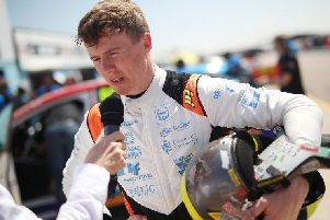 Rory Butcher is one point outside the top three in the BTCC drivers' standings.