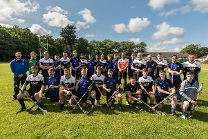 The Heb Celt Cup is back in Leodhsaich hands after an epic penalty shoot out victory at Bayhead.  All Shinty pics courtesy of Colin Cameron.