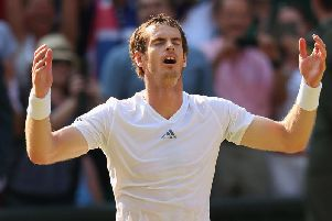 This unforgettable final in the SW19 sunshine saw Murray prevail against the Serbian great, to become the first British Wimbledon men's singles champion since Fred Perry in 1936.
