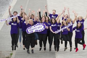Make your mark...by taking part in the Alzheimer Scotland Fife Memory Walk on Sunday and help the charity ensure no-one faces dementia alone.