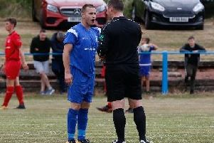 Lanarks Ian Watt was desperately unlucky not to win Saturdays tie at Wishaw for his team late on (Library picby Kevin Ramage)