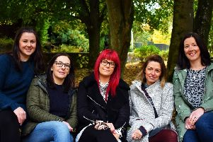 Getting crafty to promote local business, the five founders of the Made in Lanark collective