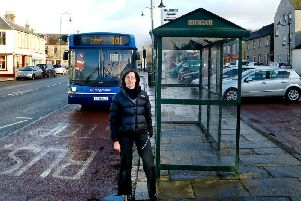 Public transport campaigner Janet Moxley says the changes could benefit Biggar and Lanark passengers