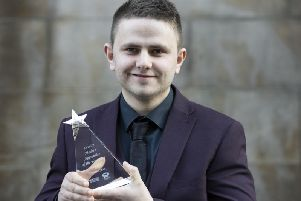 James Cook with his Craft Butcher award