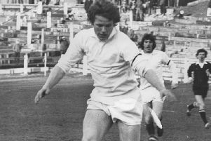 Billy Harrison served Lesmahagow with distinction as a player between 1972 and 85