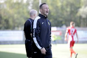 East Fife boss Darren Young has been left frustrated in recent weeks.