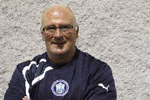 Carluke Rovers chairman Ian McKnight