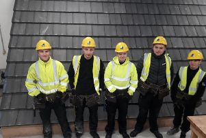 Forster Group apprentices Lanark