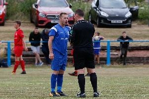 Lanark United striker Ian Watt controversially received his marching orders at Troon on Saturday (Library pic)
