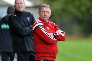 Lesmahagow Juniors manager Robert Irving